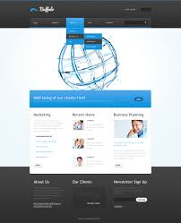 website advertisement template advertising agency website template 41997