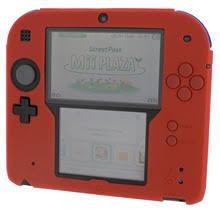 Для Nintendo 2DS красный цвет мягкие <b>силиконовые</b> Защитный ...