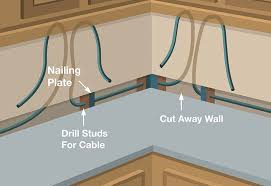 run cable under cabinet lighting