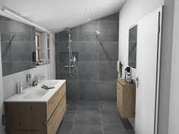 Natürliches Badezimmer Im Dachgeschoß Badezimmercom