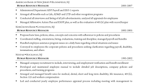 Human Resources Generalist Professional Resume Eliolera Com