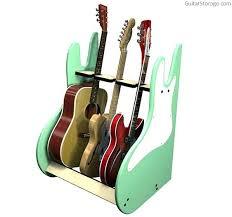 multiple guitar stand wood wooden blueprints
