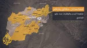 حركة طالبان تسيطر على ثلثي مساحة أفغانستان - YouTube