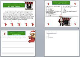 Christmas Reading Comprehension | Power Point Maniac's Teaching ...