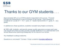 Health And Fitness Survey Questions Gym Students Survey 2013
