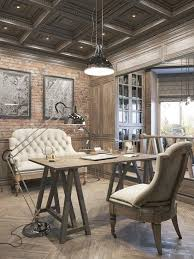 industrial office decor. Attractive Industrial Office Decor Offices With An Interior Design Touch L