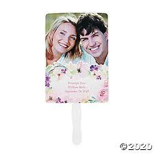 <b>Custom Photo Garden</b> Party Wedding Favor Fans | Oriental Trading