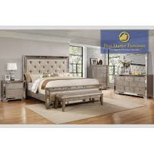 Image great mirrored bedroom Bed Frame B1980 Formal Bedroom Set Best Master Furniture Mirrored Bedroom Best Master Furniture