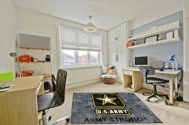 office rug. US Army Strong Logo Rug Office
