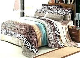 leopard comforter set cheetah print sets bed king animal for size leopard comforter set