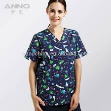 Scrub Patterns Enchanting Anno Medical Scrub Top Nurses Uniform Patterns Buy Nurses Uniform