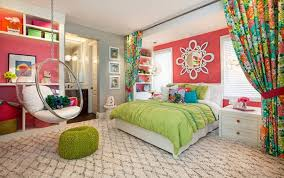 Refreshing Green Bedroom Ideas For Teenage Girls With Medium Sized