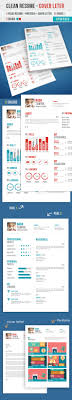 modern cv resume templates cover letter design graphic professional flat clean resume psd