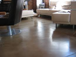 Floor   Stone Painted Concrete Floor Small Kitchen Ideas - Painted basement floor ideas