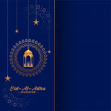 What does eid mean and when is the second eid celebrated? Free Vector Eid Al Adha Bakreed Greeting In Gold And Blue Colors