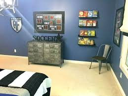 Marvelous Soccer Themed Bedroom View A Fireplace Charming Soccer Decor  Bedroom Soccer Decorations Bedroom Decor ...