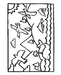 Creation Day 5 Coloring Pages At Getdrawingscom Free For Personal