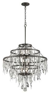 troy f3809 bistro graphite finish with antique pewter flatware 30 25 nbsp wide lighting chandelier loading zoom