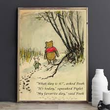 Promise Me Quote Winnie The Pooh Quotes Nursery Art Brave Quote Inspirational Quotes Prints