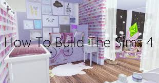 Sims Bedroom How To Build A Room Little Girl Bedroom The Sims 4 Youtube