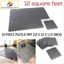 exercise floor mat fitness puzzle rug 12 gym pads workout equipment weight lift