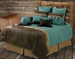 turquoise and brown bedding brown turquoise comforter sets best and bedding images on 6 turquoise and