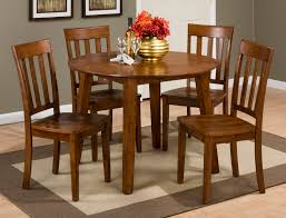 Simplicity Caramel Round Drop Leaf Table By Jofran Furniture