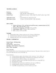 Sql Programmer Sample Resume Magnificent Oracle Resume Sample Oracle Sample Resumes Sample Oracle Resumes