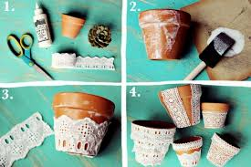 Pot Decoration Designs The pots adorn craft ideas with chalkboard paint and trim 56