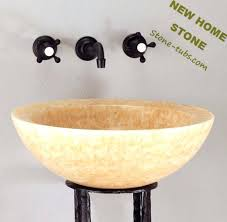 onyx brand countertops yellow onyx wash basin luxury bathroom design idea round shape yellow onyx sink