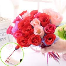 office valentine ideas. Rose Ballpoint Pen New Creative Flower Decoration Beautiful Office Stationery Personalized Valentine\u0027s Day Wedding Gift Valentine Ideas