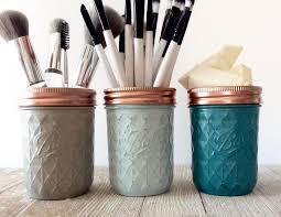 Rustikale Mason Jar Set Grau Blau Türkis Schlafzimmer Etsy