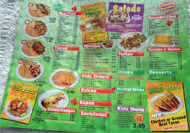 mexican food menu. Brilliant Food Los Betos Mexican Food Mesa Menu Intended Food T