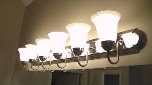 image bathroom light fixtures. How To Replace Bathroom Lighting YouTube Throughout Light Fixture Prepare 9 Image Fixtures E