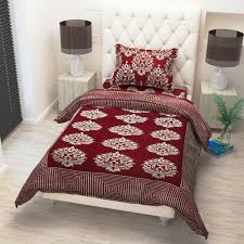 bed sheet designing cotton red bedsheet rs 375 set mustard designing india id