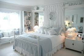 Blue And White Bedroom Chairs Furniture Walls Teenage The Glamorous ...