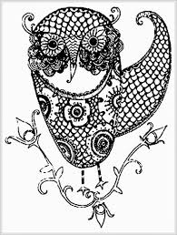 Free Owl Adult Coloring Pages To Print - Coloring Home