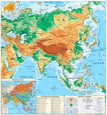 map of asia geography voicebylinda Map Of Asia Atlas digital maps & links digital maps & links map of asia to label