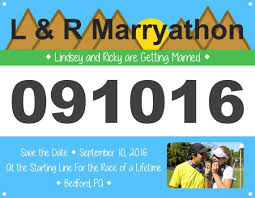 57 best running theme wedding images on pinterest wedding themes Running Themed Wedding Invitations custom made race bib save the date or invitation perfect for a running themed wedding Medieval Wedding Invitations