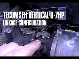 6-7HP Tecumseh Vertical Engine Throttle & Choke Linkage ...