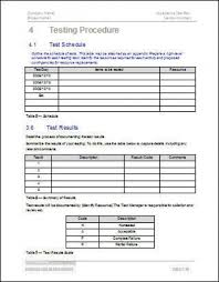 test plan template excel customer acceptance form template