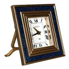 vintage 8 day desk clock by gucci 1 old school desk clock old fashioned desk clock small retro desk clock