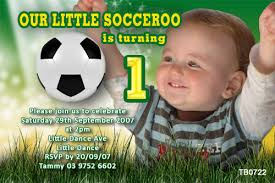 Soccer Party Invite Themed Kids Birthday Party Invitations Soccer Party