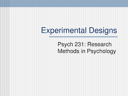 Counterbalance Research Design In Psychology Ppt Experimental Designs Powerpoint Presentation Free