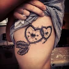 Heart Dream Catcher Tattoo Mesmerizing 32 Dreamcatcher Tattoos Tattoofanblog