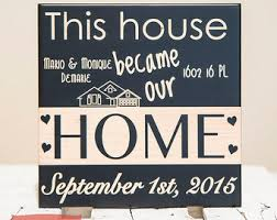 Small Picture Home sign Etsy