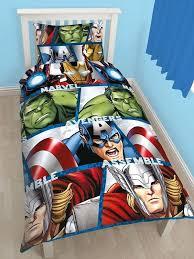 marvel avengers bedding set marvel avengers shield single duvet cover and pillowcase kids bedding for design