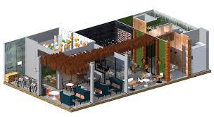 Дипломный проект Проект интерьера ресторана