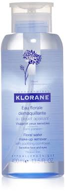 klorane fl water make up remover with soothing cornflower