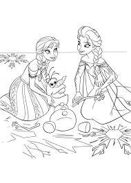 Pagine Da Colorare Stampabili Immagini Elsa E Anna Da Colorare